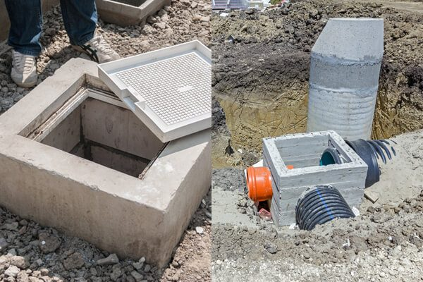sewer system, septic system, sewage system, sewage tank